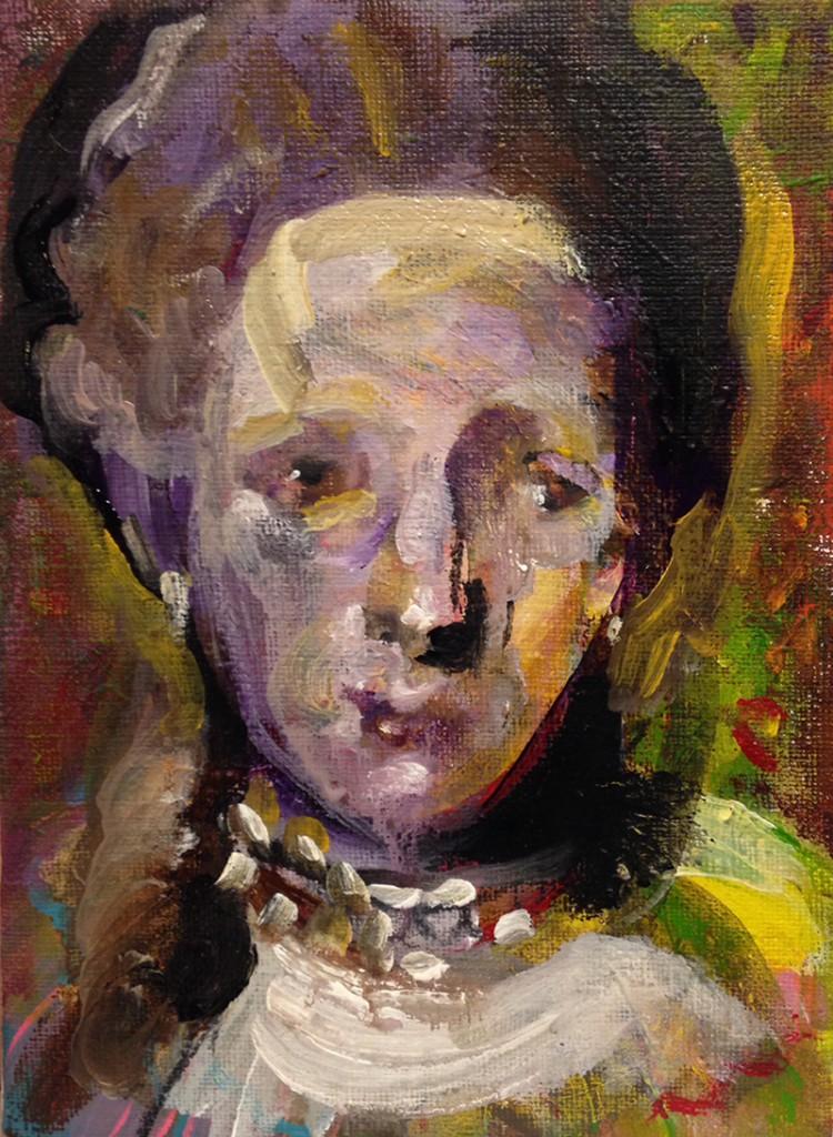 Petit (16 x 22 cm, akryl)
