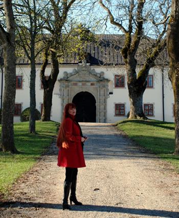 Mot slottet