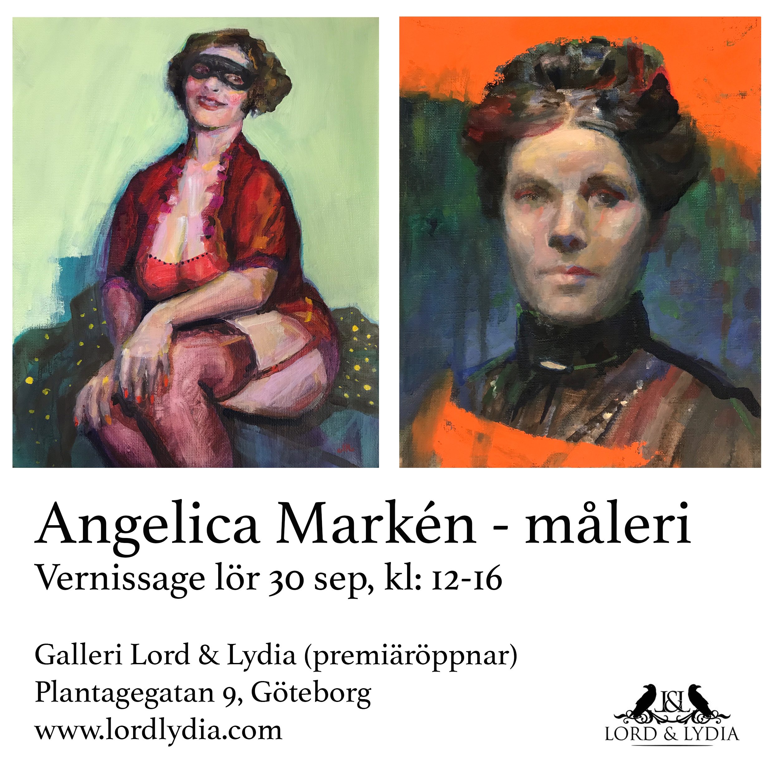 vernissagekort angelica markén lordlydia