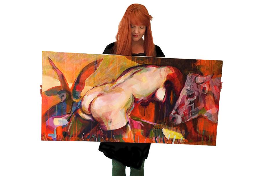 angelica markén konstnären