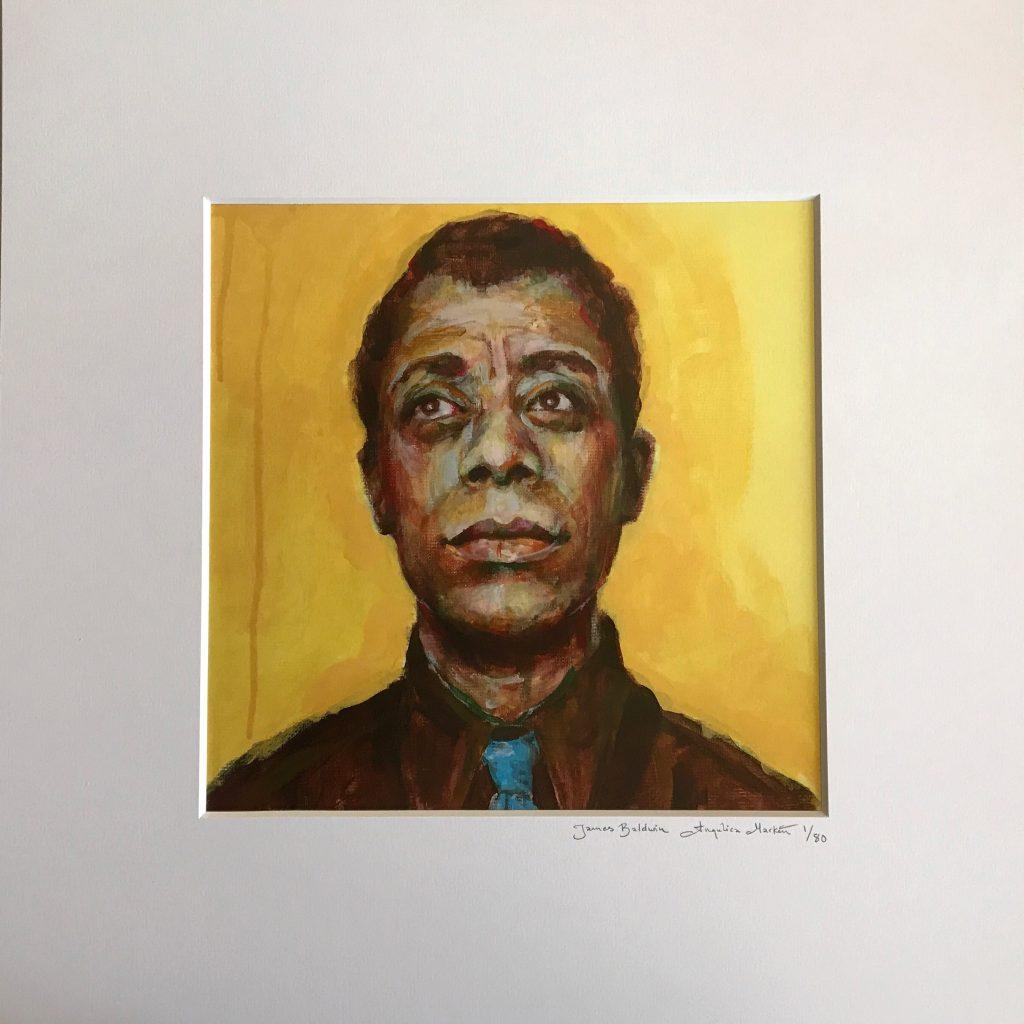 James Baldwin Angelica Markén