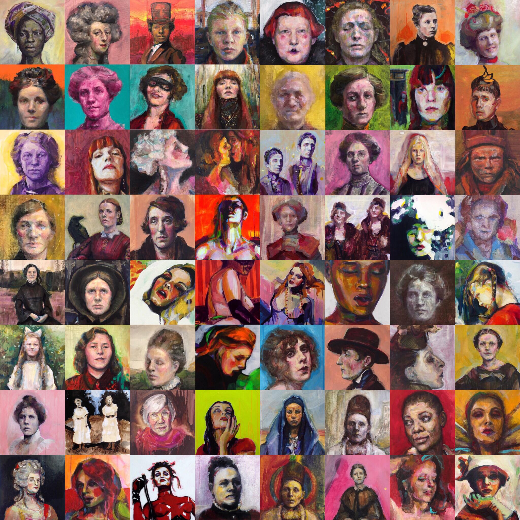 Angelica Markén Queendom of colour
